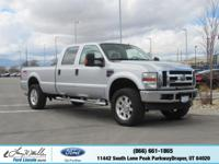 Only 92,262 Miles! This Ford Super Duty F-350 SRW