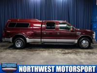 Clean Carfax Two Owner Dually Truck with Canopy!