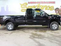 2008 Ford F-350SD, Black, Camper Package (Heavy Service
