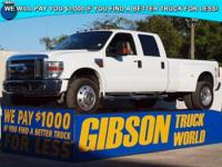 WWW.GIBSONTRUCKWORLD.COM 2008 Ford F450 Lariat Crew Cab