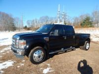 Diesel, Dually, CARFAX One-Owner. Clean CARFAX. Black