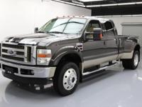This awesome 2008 Ford F-450 4x4 Diesel comes loaded
