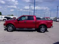 This 2008 F150 is ready for the road with black leather