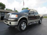 2008 Ford F150 Lariat Supercrew 4x4. Powered By A 5.4L