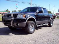 2008 Ford F150 SuperCrew, FX4 4x4, 5.4 V8, Auto,