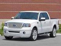 2008 Ford F150. This is the super crew Limited Edition