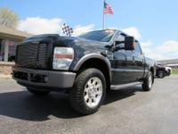 2008 Ford F250 Super Duty Crew Cab 4x4. FX4 Package,