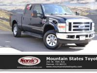 Check out this 2008 Ford Super Duty F-250 SRW FX4. Its