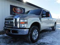 LOCAL TRADE 2008 FORD F250 SUPER DUTY LARIAT 4X4
