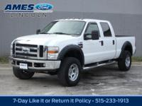 Our 2008 Ford Super Duty F-250 Lariat Crew Cab 4x4