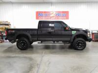 This sharp 2008 Ford F-250 crew cab Lariat with the