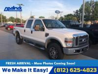 Oxford White Clearcoat 2008 Ford F-250SD Lariat 4WD
