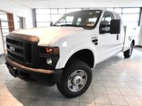 Oxford White Clearcoat 2008 Ford F-250SD XL 4WD