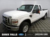 Come test drive this 2008 Ford F-250! Previously owned