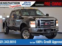 New Price! Black 2008 Ford F-250SD XLT 4WD TorqShift