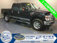2008 Ford F-350SD Crew Cab Lariat Highlighted with