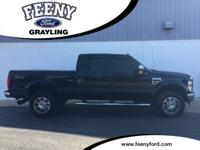New Price! Black 2008 Ford F-350SD Lariat 4WD 6-Speed
