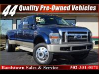 A+ BBB rating, AUTOCHECK CERTIFIED, F450, POWERSTROKE