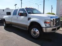 2008 Ford F450 King Ranch 4wd Dually Crew Cab Very Nice