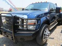 Powerstroke V8 diesel engine with 74,328 miles.