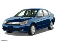 LOW MILES This 2008 Ford Focus SE Includes Based on the