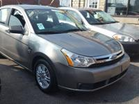 2008 FORD FOCUS 4CYL. SEDAN 4D SE AUTOMATIC AM/FM RADIO