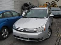 2008 FORD FOCUS SE 2 DOOR COUPE, 4 CYLINDER, AUTOMATIC
