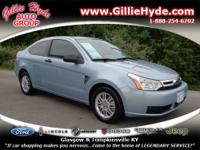 Check out this Sporty Gas Saver! This Focus Coupe gets