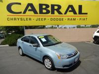 Experience driving perfection in the 2008 Ford Focus! A