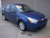 Options Included: N/A***2008 Ford Focus SE***VIN:
