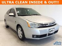 Options:  2008 Ford Focus Se|Silver|**** Alloy Wheels