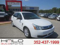 2008 FORD FOCUS SE SPORTS SEDAN ** HALO CERTIFIED- 140