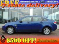 Exterior Color: blue, Body: Sedan, Engine: 2.0L I4 16V