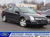 This 2008 Ford Fusion V6 SE comes equipped with