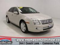 Check out this 2008 Ford Fusion SEL AWD. It has an