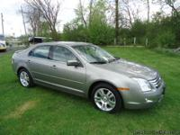 GORGEOUS 2008 FUSION SEL WITH ALL-WHEEL DRIVE! 123K
