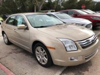 This outstanding example of a 2008 Ford Fusion 4dr Sdn