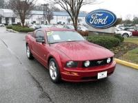 CLEAN CARFAX TRADED IN HERE 2008 FORD MUSTANG GT COUPE
