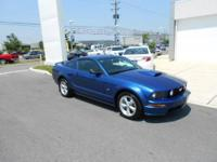 You must see this Blue Ford Mustang! This vehicle is