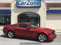 2008 FORD MUSTANG GT DELUXE COUPE - 5 SPEED MANUAL -
