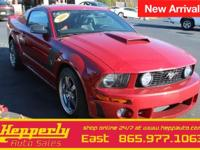 Recent Arrival! This 2008 Ford Mustang ROUSH in Dark