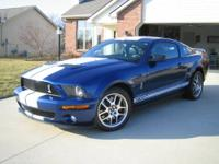 2008 Ford Mustang Shelby GT500 Cobra Coupe 2Door