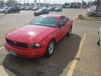 We are excited to offer this 2008 Ford Mustang. Drive