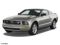 Get ready to go for a ride in this 2008 Ford Mustang