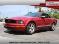 2008 Ford Mustang Convertible V6, Come on in and check