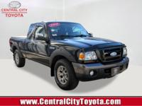 From work to weekends, this Black 2008 Ford Ranger FX4