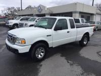 2008 FORD RANGER EXTENDED CAB, XLT 4X4 WITH ONLY 74K