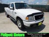 Options Included: N/A2008 Ford Ranger Supercab, white