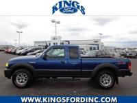SUPER NICE 4X4 EXTENDED CAB V6 RANGER! LOW MILES TOO!