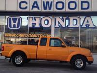 Options:  2008 Ford Ranger|Orange|Cloth 60/40 Split